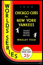 1932_world_series_program_cubs