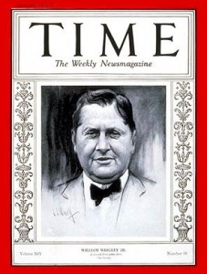 william wrigley time1