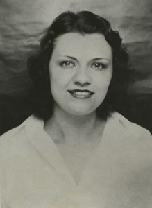 Photograph of Violet Popovich found in her hotel room after the shooting.